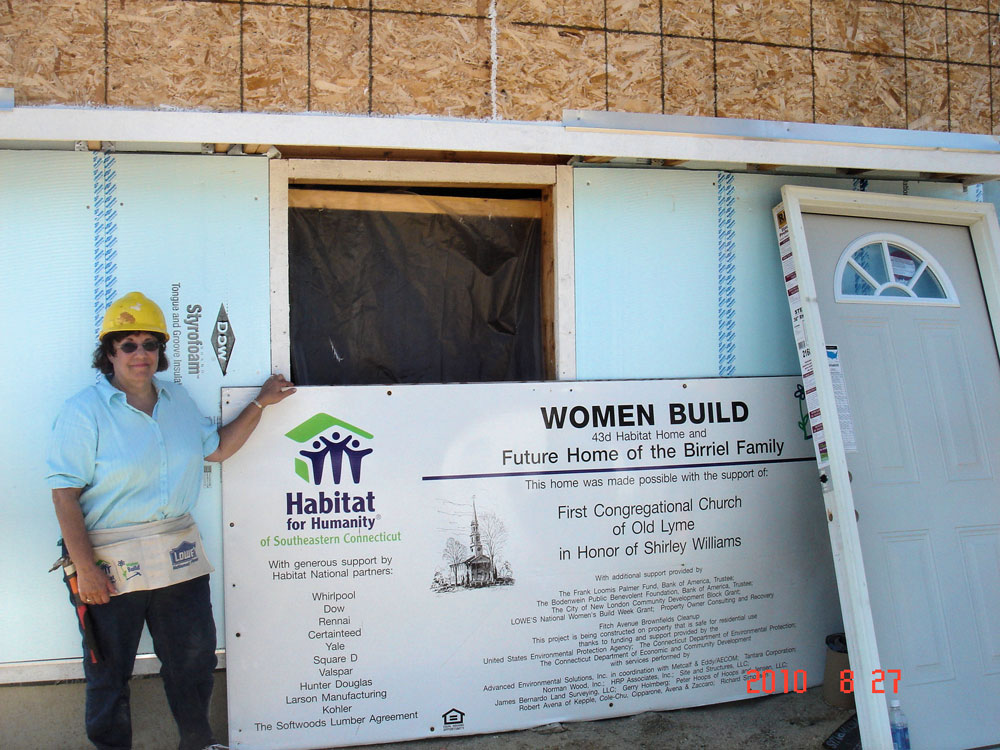 Helping Out at Habitat for Humanity