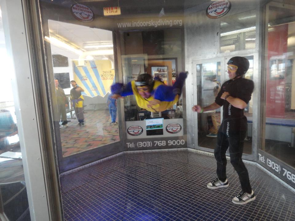 Indoor Skydiving 2012