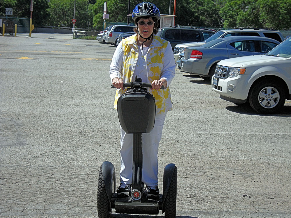 Spending the day on a Segway in Los Angeles