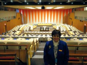 Nancy D. Butler, United Nations Delegate in March of 2018